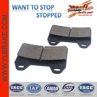 motorcycle parts sintered motorcycle Brake Pad for BMW-F 800 R/G 650 Xmoto/APRILIA-RSV 1000/ETV 1000/SL 1000/for DUCATI-Monster
