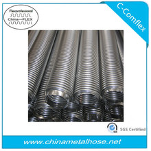 convoluted flexible stainless steel hose