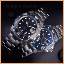 diver automatic watch,30ATM waterproof,watch with eta 7750 movement