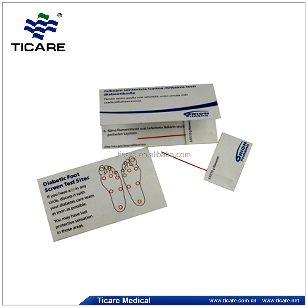 Diabetic Sites: Diabetes Monofilament, View Diabetic Foot Screen Test