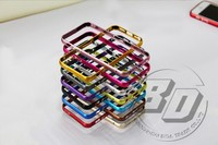 Wholesales Cell Phone Case For Iphone 5 5S 6 6plus Ultra thin Metal Frame Block button
