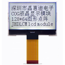 hot sale transparent lcd module JHD12864-G13BSW-BL