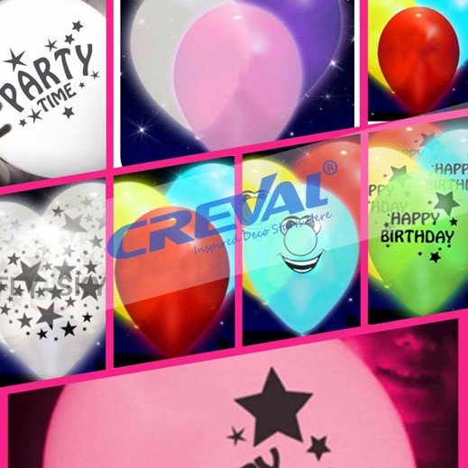 wholesale LED Latex Helium Balloon Weddingor Party and wedding supplies