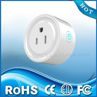 Power smart socket home automation system with wifi remote control
