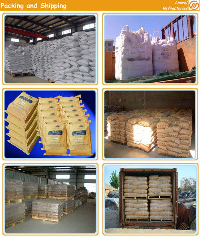 High Temperature Refractory Castable LA-CA65