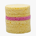 Dry Cleaning Cellulose Sponge Puff Cosmetic Cellulose Sponge Facial Cleansing Cellulose Sponge