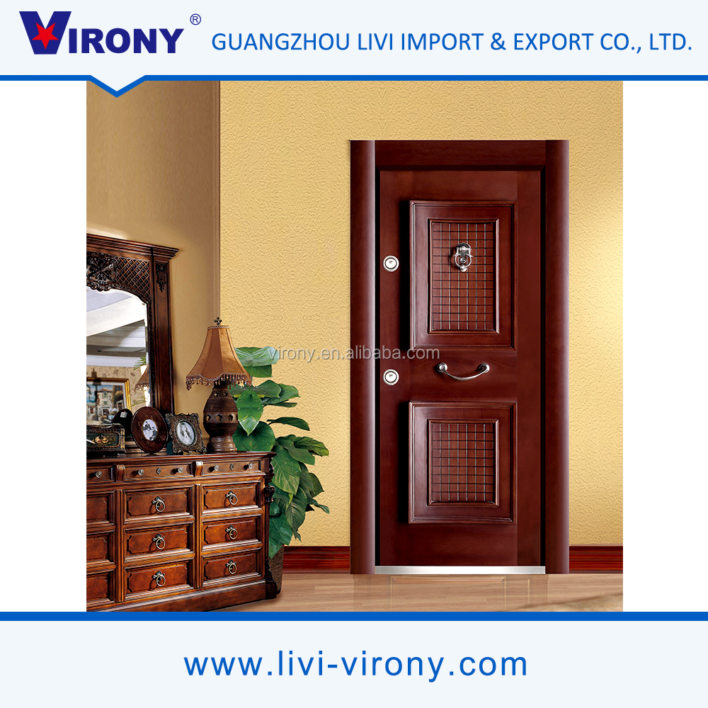 Competitve price cheap non-warping used metal security doors