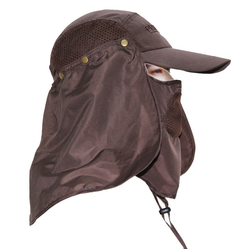 360 Degree Sun And Uv Protection Removable Flap Jungle Hat