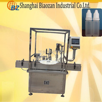 Plastic Bottle Filling and Sealing Machine/Small bottle filling machine,bottle capping machine,bottle labeling machine