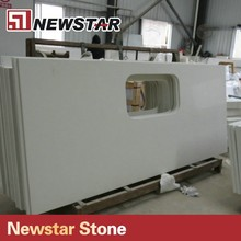 Newstar Customize Chinese Absolute White Quartz Countertop