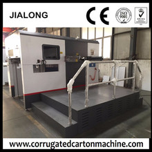 Manual-automatic die cutting press machine and box cutter indentation for sale