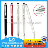 promotional cheap gift screen touch pen fit for iPhone iPad Blackberry LG Samsung Moto Nokia etc. SP-6-D