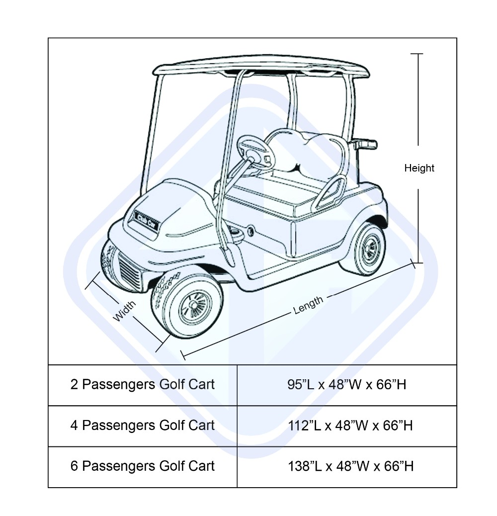 Nice Design Promotion 4 Person Golf Car Cover Buy 4
