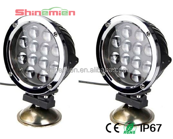 Super brightness 7INCH 60W CREE LED DRIVING WORK LIGHTS 60w 5100LM SPOT OFFROAD TRUCK 10-30V REPLACE HID