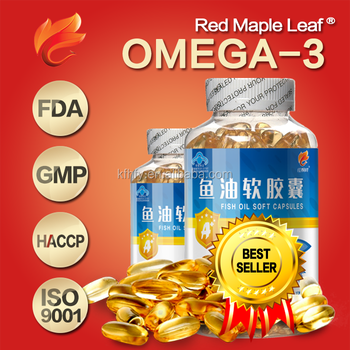 OEM Health products Omega 3 softgel capsules