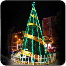 Custom made Large outdoor LED PVC picture frame christmas tree ornaments