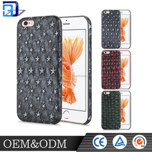 Originality camouflage retro star,Skull,hot sell TPU cell phone case for apple iphone
