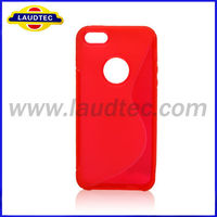Hot Selling S Line Soft TPU Gel Skin Case Cover for iPhone5S
