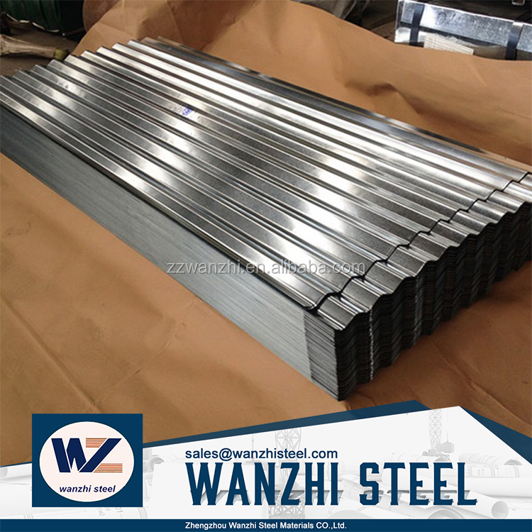 0.7 mm thick aluminum zinc roofing sheet, 28 gauge corrugated steel roofing sheet price corrugated steel sheet