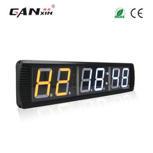 "[GANXIN]4"" 6 Digits Wall Mounted Led Digital Crossfit Timer Indoor Use"