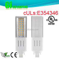 CE RoHS UL cUL approved PL 9w 6400k light with 100-277V Isolated driver