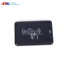 Small ISO15693 HF desktop USB rfid reader writer 13.56mhz card in vertical / horizontal direction