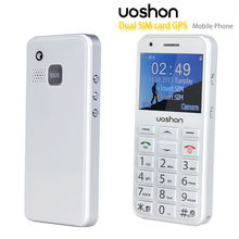 2.3 inch QVGA color screen sos panic button phone, dual sim card phone with gps tracker senior cell phone