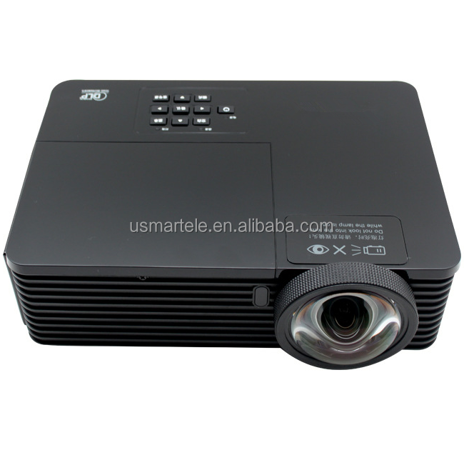 2017 New Arrival 3500lumens 3D Ultra Short throw <strong>Projector</strong> PRX5700-II Full wide 16:6 advertising Laser <strong>Projector</strong> throw radio .55