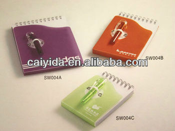 2013 School Recycled Spiral Notebook with Pen