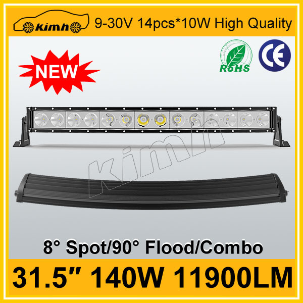 "31.5"" 11900LM 140W led light bar off road 4x4 4wd"