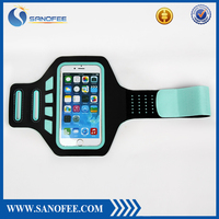 For Apple iphones reflective armband case, sport running armband mobile phone case arm bag with headphone jack for iphone6s