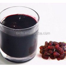 Mulberry fresh fruit extract powder juice concentrate with food beverage additives