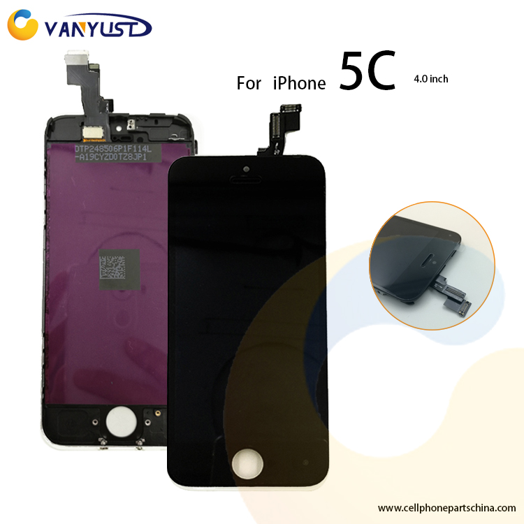 100% Guarantee Replacement LCD Screen Digitizer For iPhone 5c lcd touch screen display digitizer replacement