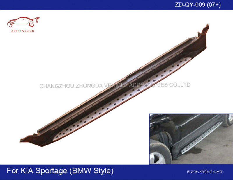 side steps for KIA SPORTAGE,KIA SPORTAGE running board,auto car motor foot plate/pedal plate/side guard