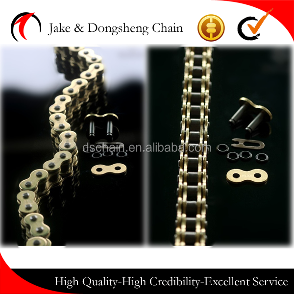 Zhejiang jinhua 525/530 O Ring COPPERING CHAIN MOTORCYCLE parts CHAIN superior motor transmission driving chain