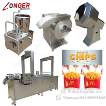 Industrial Frozen French Fries Production Line/Small Scale Potato Chips Production Line for Sale