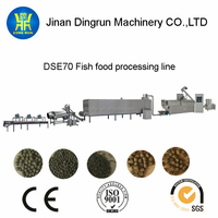 Alibaba China floating fish feed manufacturing machinery fish farm equipment