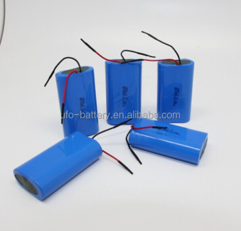 Li-ion Battery Pack 3.7V 4800mAh Cylindrical Li-ion 18650 2P Battery Pack For Wireless Alarm System