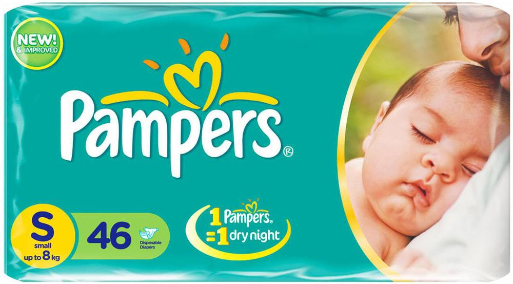 PAMPERS 46PCS Easy Up Pants Diapers