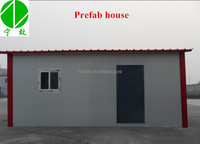 Insulated sandwich panel house as car garage