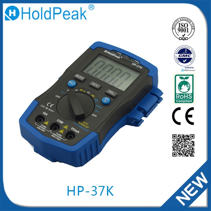 HP-37K Professional manufacture digital multimeter pocket size