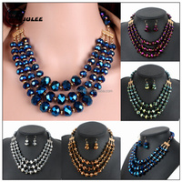 Jinhua jewelry sets factory wholesale handmade african set jewelry