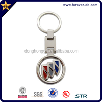 2014 Custom shaped 3D metal keychain