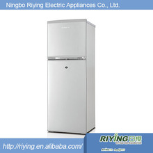 138L total available volume double door refrigerator dimensions