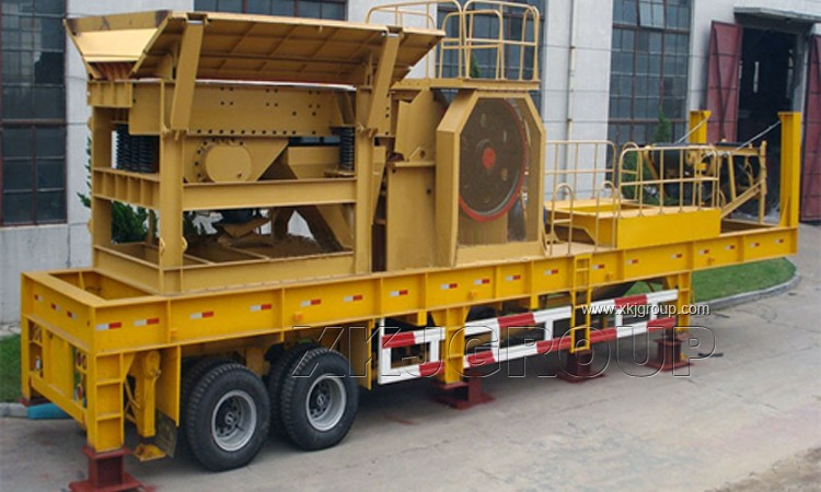 2017 china Mobile Crusher Plant