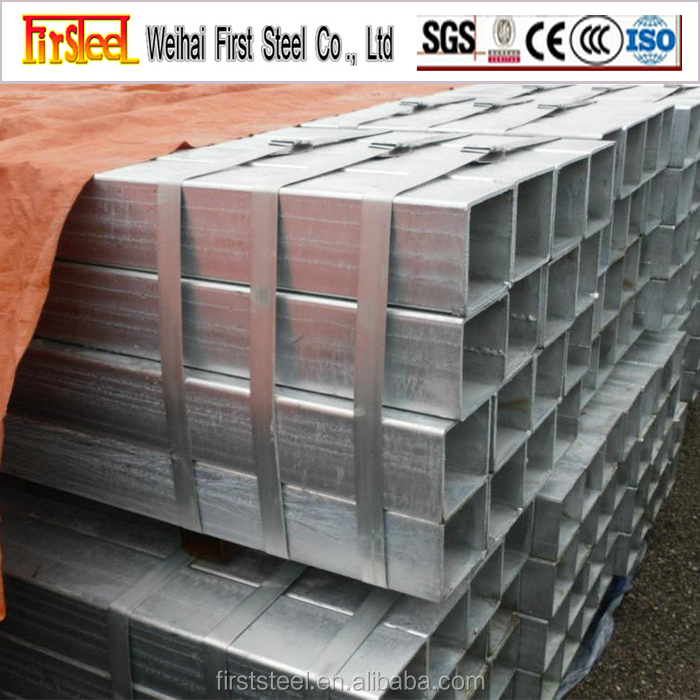 business industrial alibaba china supplier galvanized square steel pipe/tube