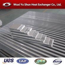 china supplier custom aluminum cooling radiator fins