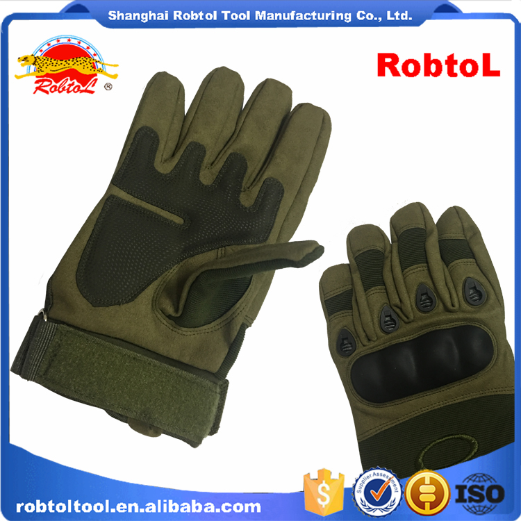 military army tactical fingerless outdoor sport bicycle motorcycle fitness airsoft hard knuckle half finger gloves fighting