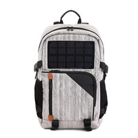 40L Solar Panel Charging Traveling Laptop Hiking Backpack