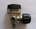 KHF-30B,B2 SCBA air cylinder valve with gauge for SCBA cylinder,SCBA cylinder valve with gauge,black valve